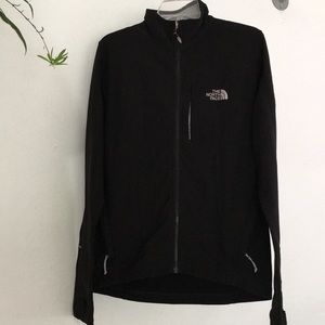 North Face black jacket light weight Men's M